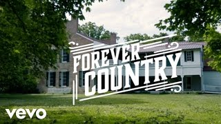 "Artists Of Then, Now & Forever – ""Forever Country"" with Lyrics"