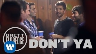 "Brett Eldredge – ""Don't Ya"" with Lyrics"